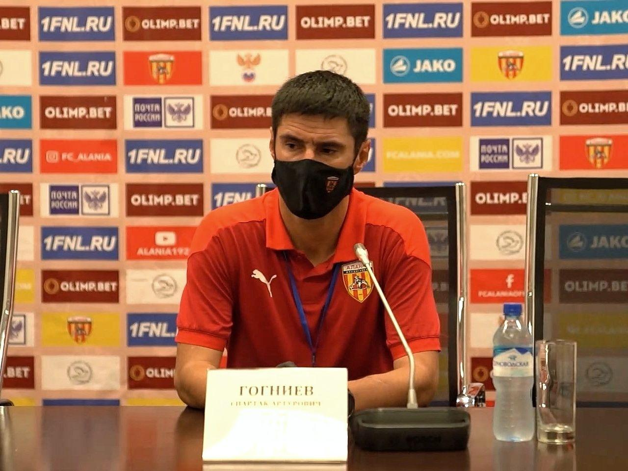 Пресс-конференция Спартака Гогниева