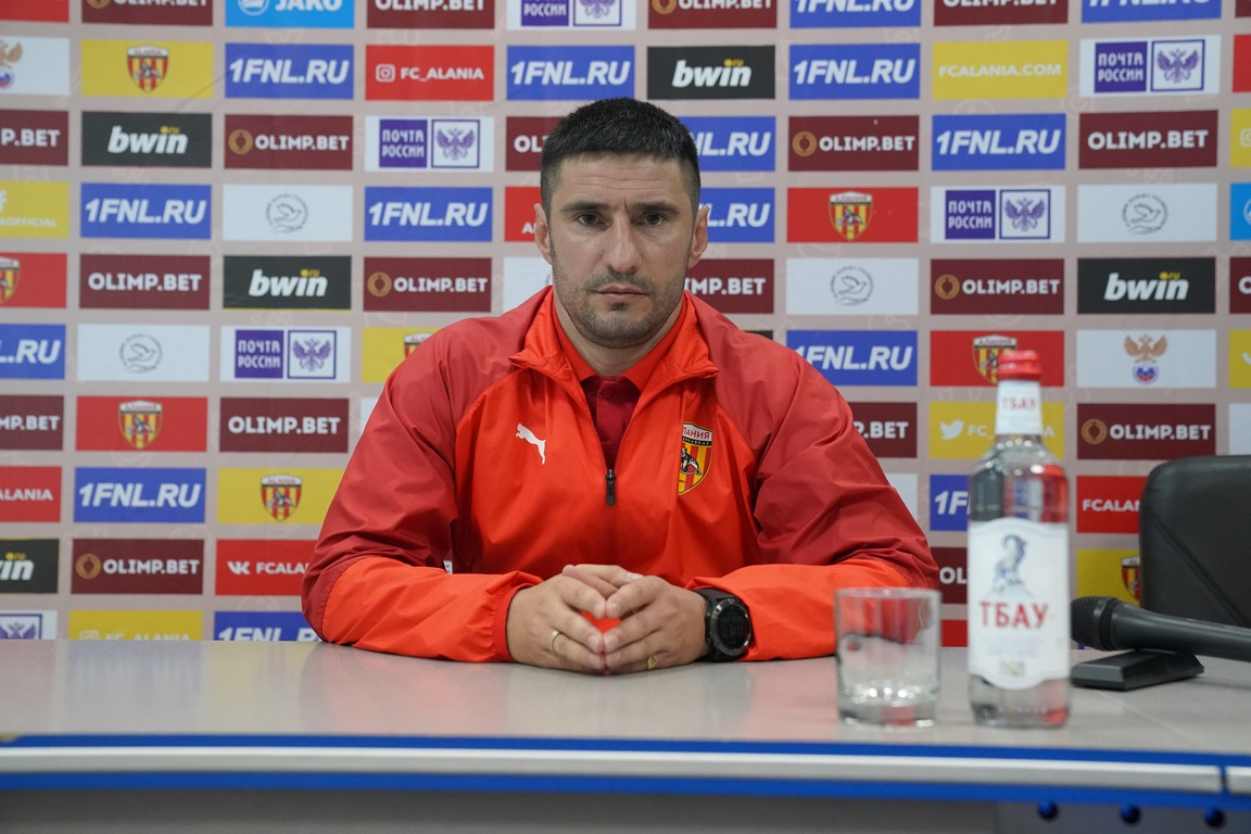 Press-conference with Spartak Gogniev